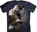 Find 10 Eagles - T-shirt The Mountain z orłami