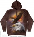 Eagle & Clouds - bluza z kapturem The Mountain