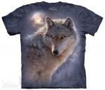 Adventure Wolf - wilk - koszulka unisex The Mountain