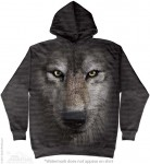 Wolf Face - wilk - bluza z kapturem The Mountain
