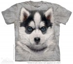 Siberian Husky Puppy - koszulka unisex The Mountain