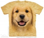 Golden Retriever Puppy - koszulka unisex The Mountain