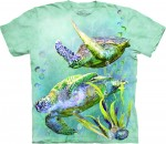 Sea Turtles Swim - koszulka unisex The Mountain