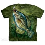 Crappie - karp - koszulka unisex The Mountain