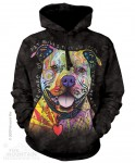 Beware of Pit Bulls - pies - Bluza z kapturem The Mountain