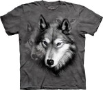 Wolf Portrait - wilk - koszulka unisex The Mountain
