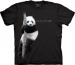 Panda Protect My Home - panda - koszulka unisex The Mountain