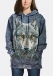 Warrior Wolf - wilk - Bluza z kapturem The Mountain