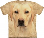 Yellow Lab Portrait - labrador - koszulka unisex The Mountain