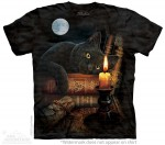 The Witching Hour - czarny kot - Lisa Parker - koszulka unisex The Mountain