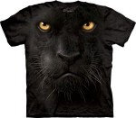 Black Panther Face - czarna pantera - koszulka unisex The Mountain