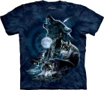 Bark at the Moon - wilki - koszulka unisex The Mountain