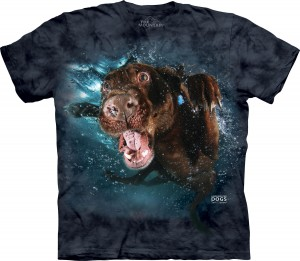 Underwater Dog Hodge - pies pod wodą - koszulka unisex The Mountain