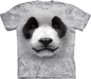 Big Face Panda - koszulka unisex The Mountain