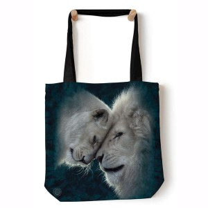 White Lions Love - torba shopper The Mountain