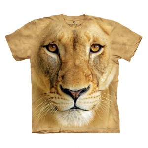 Big Face Lioness - lwica - koszulka unisex The Mountain OL, Smithsonian
