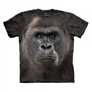 Big Face Lowland Gorilla - goryl nizinny - koszulka unisex The Mountain OL, Smithsonian