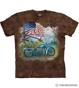 Biker Americana - koszulka unisex The Mountain