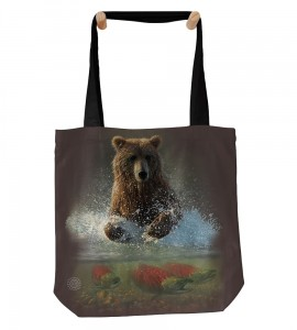 Lucky Fishing Hole - torba shopper The Mountain