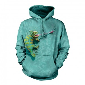 Climbing Chameleon - kameleon - bluza z kapturem The Mountain
