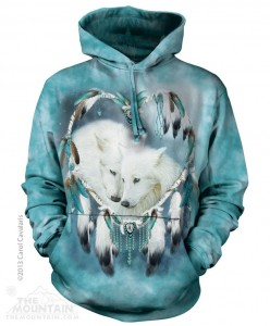 Wolf Heart - wilki - Bluza z kapturem The Mountain