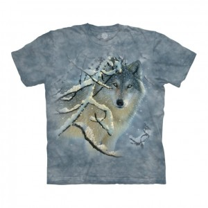 Broken Silence - wilk - koszulka unisex The Mountain
