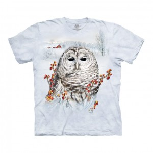 Country Owl - sowa - oszulka unisex The Mountain