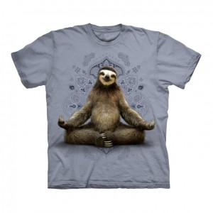 Vriksasana Sloth - koszulka unisex The Mountain