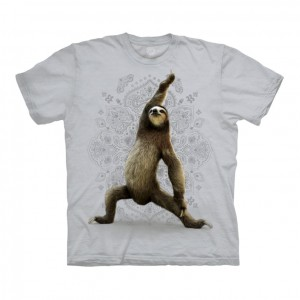 Warrior Sloth - koszulka unisex The Mountain