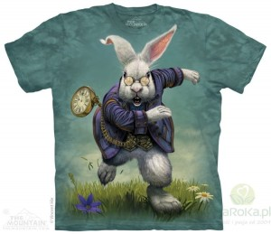 White Rabbit - koszulka unisex The Mountain (Rozmiar 4XL)