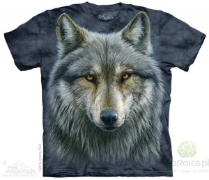 Warrior Wolf - koszulka unisex The Mountain (Rozmiar 5XL)