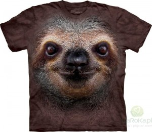 Sloth Face - koszulka unisex The Mountain (Rozmiar 4XL)