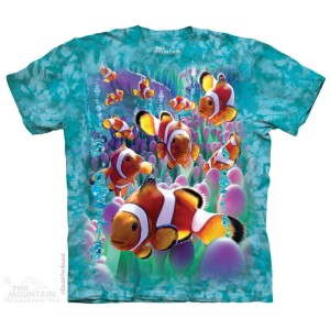 Clownfish - rybka Nemo - koszulka unisex The Mountain