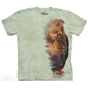 Woodsy Owl - sowa - koszulka unisex The Mountain