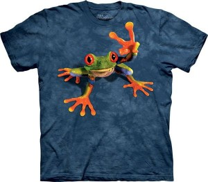 Victory Frog - żaba - koszulka unisex The Mountain