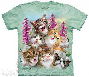 Kittens Selfie - koty - koszulka unisex The Mountain