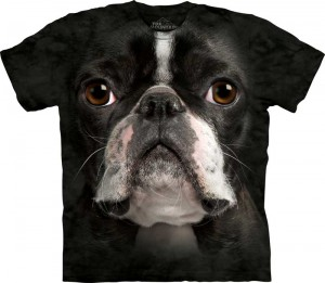 Boston Terrier Face - koszulka unisex The Mountain