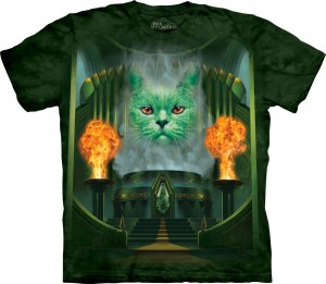 Cat The Great & Powerful - kot - koszulka unisex The Mountain