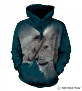 White Lions Love - lwy - bluza z kapturem The Mountain