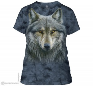 Warrior Wolf - wilk - koszulka damska The Mountain, Roz. 2XL