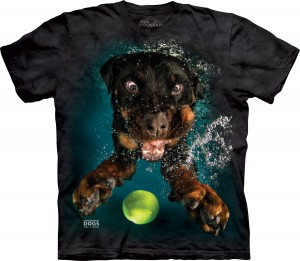 Underwater Dog Mylo - pies pod wodą - koszulka unisex The Mountain
