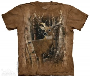 Birchwood Buck - jeleń - koszulka unisex The Mountain