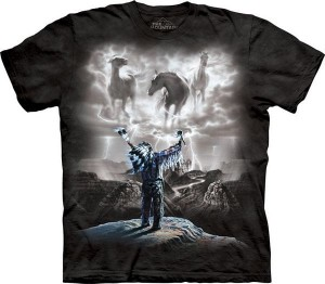 Summoning the Storm - konie - koszulka unisex The Mountain