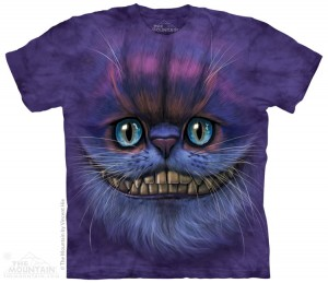 Big Face Cheshire Cat - kot - koszulka unisex The Mountain