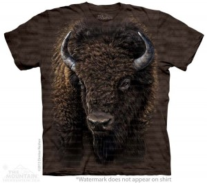 Big Face Buffalo - T-shirt The Mountain