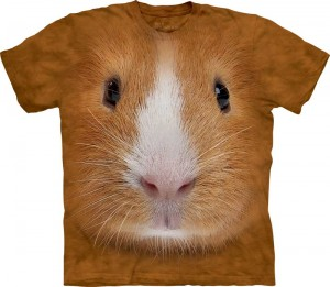 Guinea Pig Face - świnka morska - koszulka unisex The Mountain