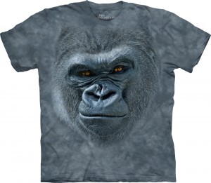 Smiling Gorilla - goryl - koszulka unisex The Mountain