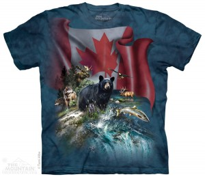 Canada the Beatiful - T-shirt The Mountain