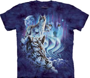 Find 10 Wolves - wilki - T-shirt The Mountain