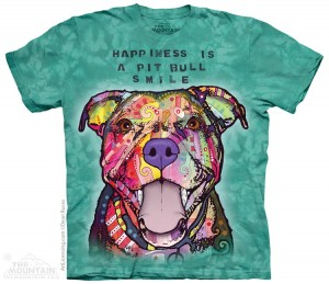 Pit Bull Smile - koszulka unisex The Mountain